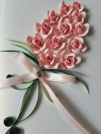 25+ best ideas about Quilled Roses on Pinterest | Quilling ...