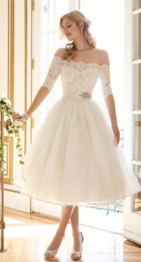 Short White Bridal Reception Dresses - Discount Wedding ...