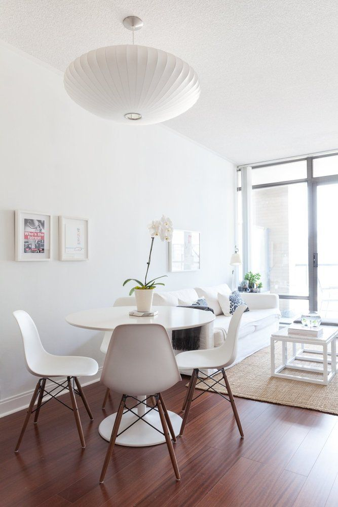 Small White Dining Table Signy's Well-curated Condo | House Tours, Table And Chairs
