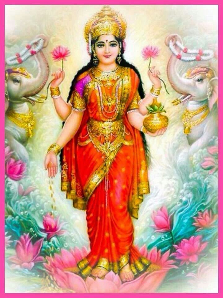 Jai Mata Di Hd Wallpaper Jai Shree Vaibhav Lakshmi Maa Indian Goddess Pinterest