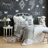 17 Best ideas about Gray Boys Bedrooms on Pinterest