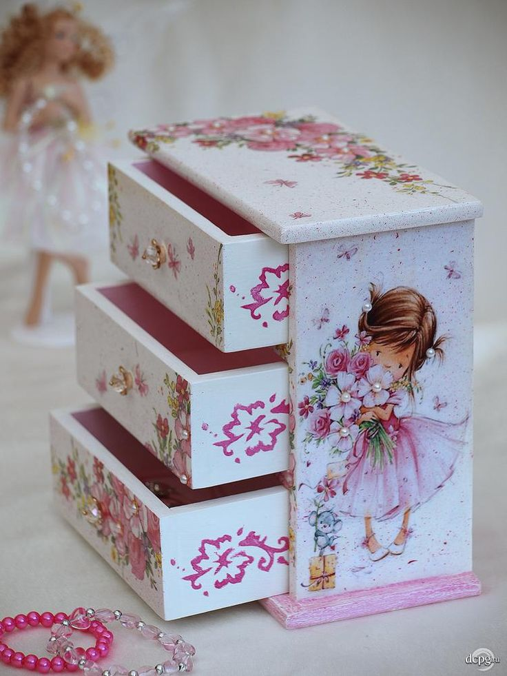 Decorar Cajas Con Servilletas 792 Best Cajas Decoradas Images On Pinterest