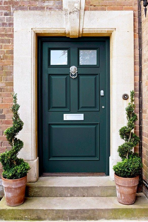 1000+ Ideas About Green Front Doors On Pinterest | Front Door