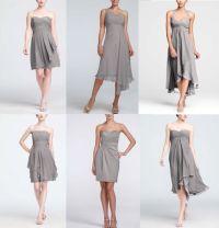 Short Chiffon Bridesmaids dresses from David's Bridal in ...