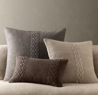 Restoration Hardware - Sweater Pillows. Perfect for ...