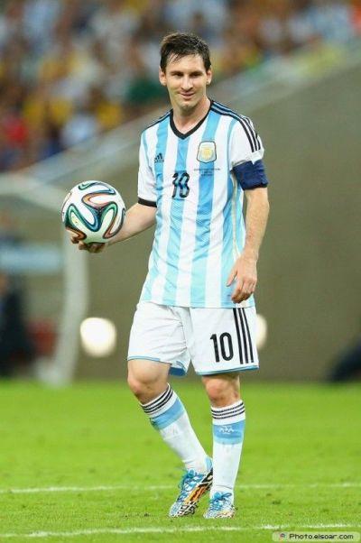 Lionel Messi Argentina 2014 FIFA World Cup Photo Wallpaper ...