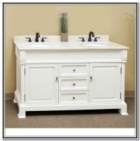 48 Inch Double Sink Vanity White
