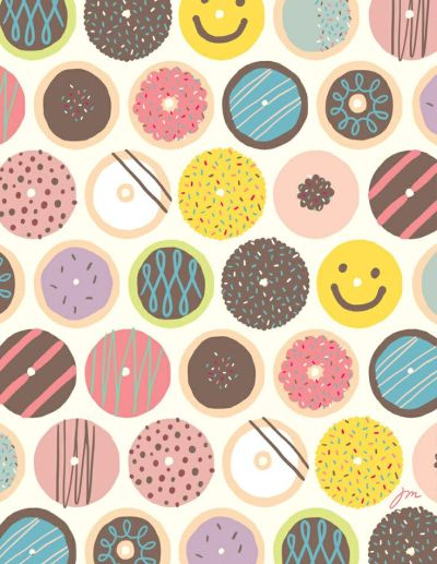 Donuts! wallpaper | Wallpaper | Pinterest | Donuts and Wallpapers