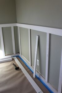 25+ best ideas about Chair rail molding on Pinterest