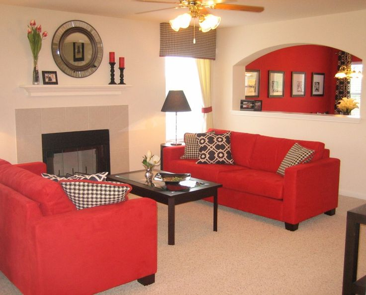 17 Best Ideas About Red Sofa Decor On Pinterest | Red Couch Living