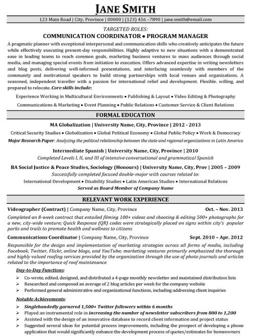 Sample Resume Retail Audit Ppt | Cover Letter Sample For Job