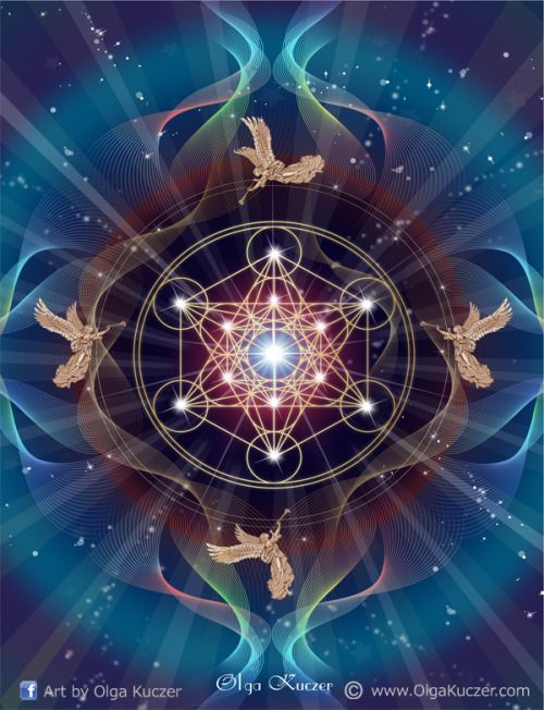 Archangel Michael Hd Wallpaper Metatron S Cube Contains Every Shape That Exists Within