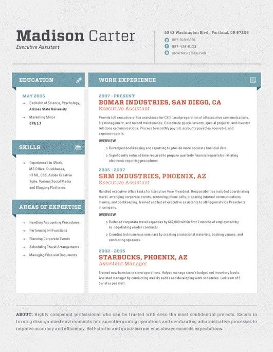 business cvs template sketch