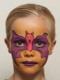 Die besten 17 Ideen zu Fledermaus Schminken auf Pinterest ...