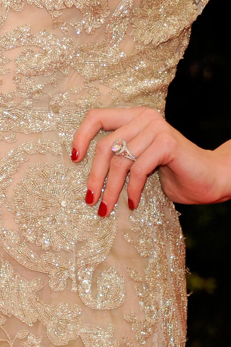 celebrity engagement rings amber wedding ring A list engagement ring inspiration