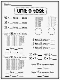 25+ best ideas about Place value worksheets on Pinterest ...