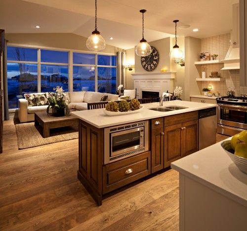1000+ Ideas About Kitchen Hearth Room On Pinterest | Ranch Floor