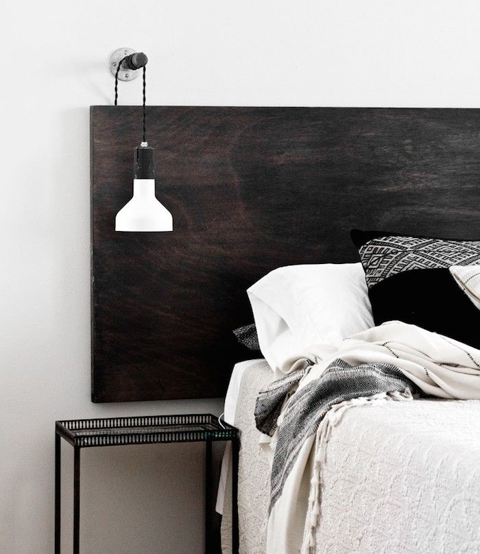 Lampadaire Chambre Adulte Inspiration | Diy Headboards, Modern Bedside Lamps And House