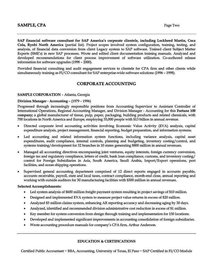 resume summary it analyst examples