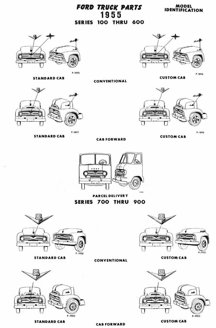 1955 ford f100 wheels