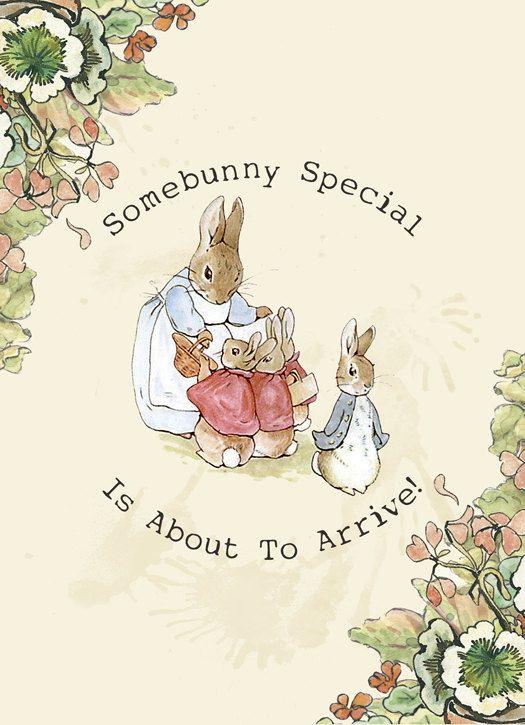 Wallpaper Border For Girl Nursery Peter Rabbit Printable Baby Shower Invitations Digital