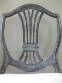 Yes, painted Duncan Phyfe chair back, I love you. Normally ...