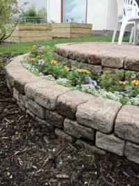 108 best images about Backyard Appeal~Rock/Retaining walls ...