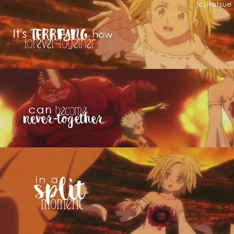 Your Lie In April Quotes Wallpaper Seven Deadly Sins Anime Quotes Pinterest The O Jays