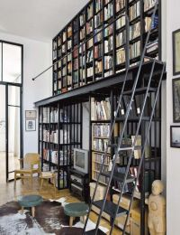 25+ best ideas about Library Ladder on Pinterest   Library ...