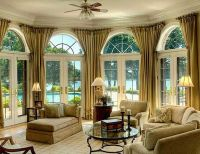17 Best images about Arch bay window treatments on ...