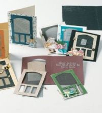 Screen Door Cards Paper Craft: Cards Doors, Cards Ideas ...