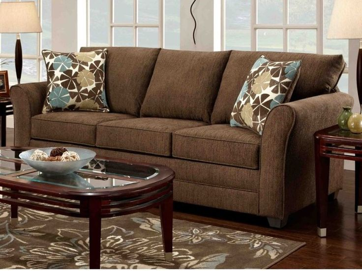 Cojines Chocolate Tan Couches Decorating Ideas | Brown Sofa Living Room