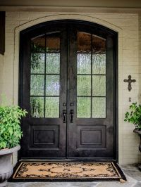 Amusing Double Front Doors for Homes: Traditional Exterior