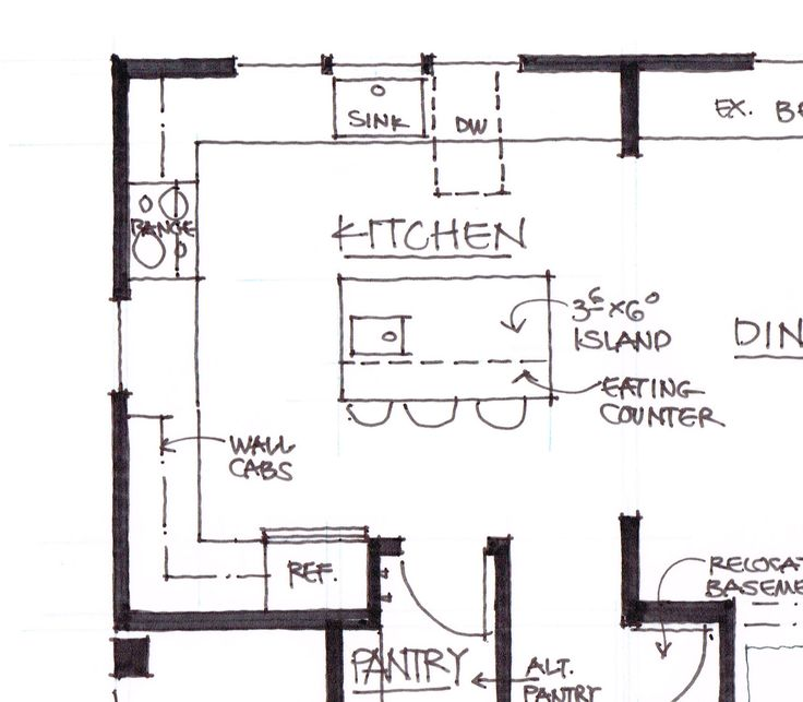Kitchen Island Size With Seating 1000+ Ideas About Kitchen Island Dimensions On Pinterest