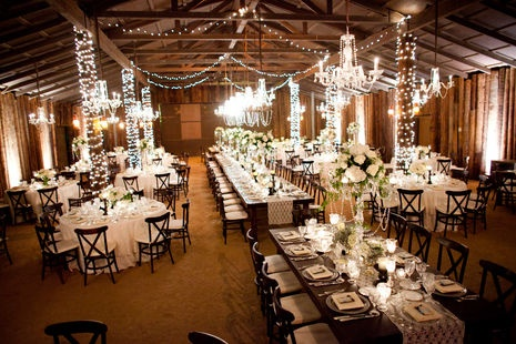 Fall String Lights Wallpaper Weddings The Barn S Interior Was Transformed Into This Magical