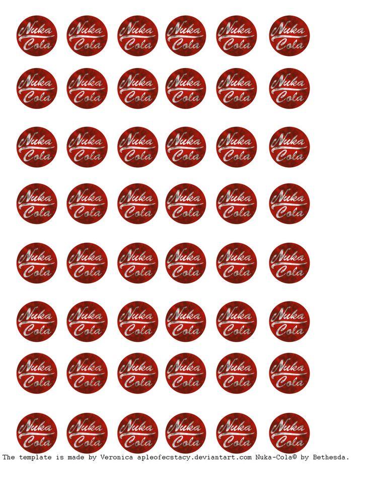 Nuka Cola Template Dirty By Appleofecstacydeviantartcom