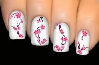1000+ ideas about Cherry Blossom Nails on Pinterest   Pink ...