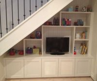 Under Stairs Media Unit | Under the stairs | Pinterest ...