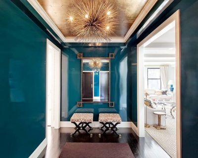 Best 25+ Gold ceiling ideas on Pinterest | Fake fireplace, Tropical bathroom mirrors and Modern ...