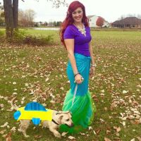 Disney's Little Mermaid - Halloween Homemade DIY Ariel ...
