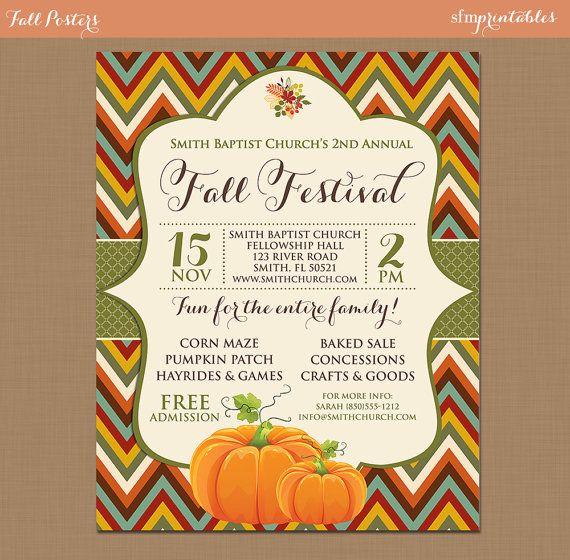 harvest festival flyers