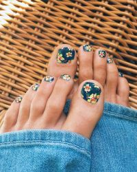 Tropical Flower Toe Nail Designs | www.imgkid.com - The ...