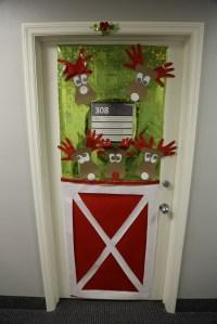 Office Door: Xmas Office Door Decoration