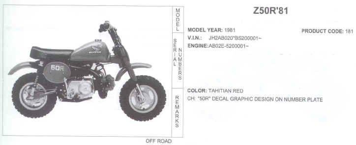 1980 honda mini bike