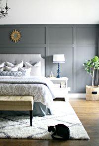 Dark gray accent wall | Dark grey and Focal wall