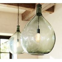 Pottery Barn Lantern Light. Good Mason Jar Pendant Light