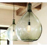 Pottery Barn Lantern Light. Good Mason Jar Pendant Light