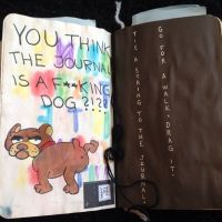 Wreck This Journal - Tie A String To The Journal ...