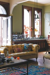 Anthropologie home decor - boho, eclectic, living room ...