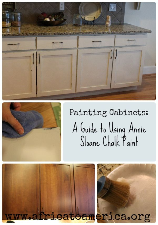 Annie Sloan Kitchen Cabinet Paint Kitchen Cabinet Makeover | Painting Cabinets, Annie Sloan